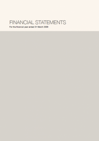 Financial Statements 2008/09