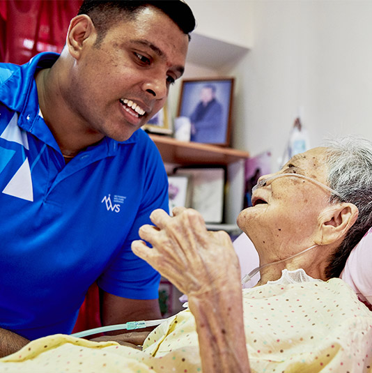 Help MWS Home Care and MWS Home Hospice patients get the care they need