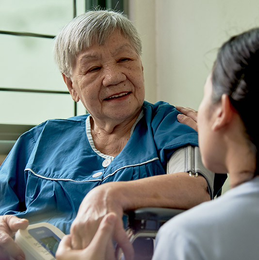 Contribute to a low-income resident's stay at MWS Bethany Nursing Home – Choa Chu Kang