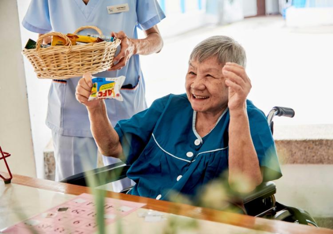 Let our frail seniors enjoy the warmth of a Home!